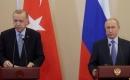 Türkiye Cumhurbaşkanı Erdoğan, Putin ile İdlib'i görüştü