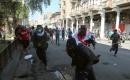 Bağdat'ta güvenlik güçlerinin dünkü gösterilere müdahalesinde 3 kişi öldü