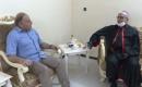 Kerkük ve Süleymaniye Kiliseleri Başpiskoposu Türkmeneli TV'yi Ziyaret Etti