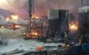 Erbil'de Aynkava Bölgesinde Herşim Göçmen Kampında Yangın Çıktı