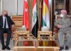 Türkiye'nin Bağdat Büyükelçisi Güney, Erbil'de Mesut Barzani ile Görüştü