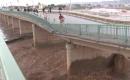 Tuzhurmatu Köprüsü Selden Zarar Gördü
