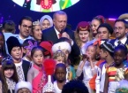 Türkiye Cumhurbaşkanı Erdoğan Çocuklarla Düet Yaptı
