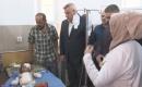 Muhtaroğlu Yaralı Türkmen Çocuğu Ziyaret Etti