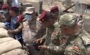 Ortak Operasyonlar Kerkük İleri Harekat Komutanı Harbiye Askeri Birlikleri Denetledi