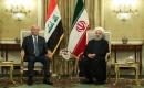Irak Cumhurbaşkanı Salih, İran'da Ruhani İle Görüştü