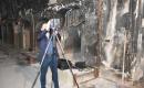 TİKA'dan Kerkük'te Yanan Osmanlı Çarşısında Teknik İnceleme