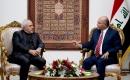 İran Dışişleri Bakanı Zarif Bağdat'ta Cumhurbaşkanı Salih ile Görüştü