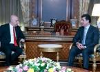 Türkiye'nin Bağdat Büyükelçisi Güney, Erbil'de IKBY Başkanı Barzani ile Görüştü