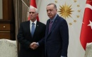 Türkiye Cumhurbaşkanı Erdoğan, ABD Başkan Yardımcısı Pence'i Kabul Etti