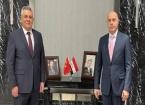 Muhtaroğlu Bağdat'ta Türkiye'nin Bağdat Büyükelçisi Ali Rıza Güney ile Görüştü
