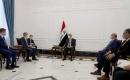İngiltere Dışişleri Bakanı Rapp, Bağdat'ta Başbakan Kazımi ve Dışişleri Bakanı Hüseyin İle Görüştü