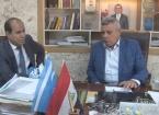Muhtaroğlu Tuzhurmatu'da Türkmence Eğitim Bölümünü Ziyaret Etti