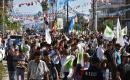 Kerkük'te Valilik Caddesinde Türkmenler Seçim Protestosu Düzenledi