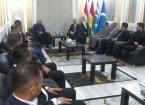 Maruf, Kerkük'ten Türkmen Sporcuları Kabul Etti