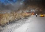 Tuzhurmatu'da Tarım Arazileri Alev Aldı