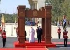 Katoliklerin Ruhani lideri Papa ile Irak Cumhurbaşkanı Salih ile Görüştü