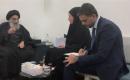 """BM Irak Temsilcisi Hennis, Sistani ile """"Gösterileri"""" Görüştü"""