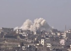 Esed Varil Bombalarıyla Saldırdı