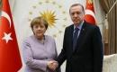 Erdoğan, Almanya Başbakanı Merkel ile Libya'yı Görüştü