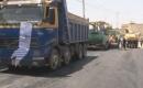 TİKA Tuzhurmatu'da Caddeleri Asfaltlamaya  Başladı