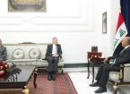 Cumhurbaşkanı Salih, ABD'nın Bağdat Büyükelçisi Tueller İle Görüştü