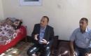 Efendioğlu Türkmen Şair Muhammet Muşo'yu ziyaret etti