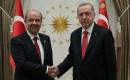 Türkiye Cumhurbaşkanı Erdoğan KKTC Başbakanı Ersin Tatar'ı Kabul Etti
