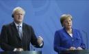 Johnson ile Merkel Bir Araya Geldi