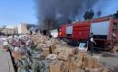 Bağdat'ta Bazı Mağazalara Ait Depolar Ateşe Verildi