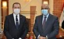 Yüksek Öğretim ve Bilimsel Araştırma Bakanı Nebil Kazım, Türkiye'nin Bağdat Büyükelçisi Fatih Yıldız ile görüştü