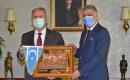 ITC Genel Başkanı Erşat Salihi Ankara Büyükşehir Belediye Başkanı Mansur Yavaş'ı Makamında Ziyaret Etti
