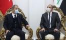 Türkiye Milli Savunma Bakanı Akar, Bağdat'ta Irak İçişleri Bakanı El Ganimi ile Görüştü
