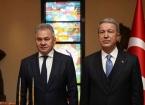 Türkiye Milli Savunma Bakanı Akar Rus Mevkidaşı Şoygu ile Görüştü
