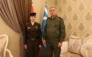 Salihi, Kerkük'ün İlk Türkmen Kadın Subayı Olan Teğmen Fatma Vahit Malı'yı Kabul Etti