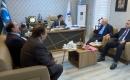 Karar Partisi Heyeti Türkmeneli Televizyonu Genel Müdür Yardımcısı Neccar ile Görüştü
