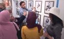Bağdat'ta Güzel Sanatlar Enistitüsü Öğrencileri Tarafından Sergi Düzenlendi