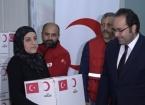 Türk Kızılayı'ndan Erbil'de Türkmen Şehit Ailelerine Gıda Yardımı