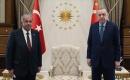 Türkiye Cumhurbaşkanı Erdoğan, KKTC Cumhuriyet Meclisi Başkanı Sennaroğlu'nu Kabul Etti