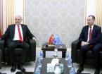 Türkiye'nin Bağdat Büyükelçisi Güney, Türkmen Bakan Maruf ile Bir Araya Geldi