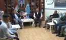 Muhtaroğlu, Neccar Başkanlığındaki Heyet ile Görüştü