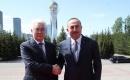 Türkiye Dışişleri Bakanı Çavuşoğlu Kazakistan'da
