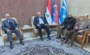 Türkmen Muharipler Derneği'nden Bir Heyet Türkmen Adalet Partisi'ni Ziyaret Etti