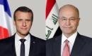 Cumhurbaşkanı Salih, Fransa Cumhurbaşkanı İle Telefonda Görüştü