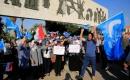 Bağdat'ta Türkmenlerden Seçim Protestosu