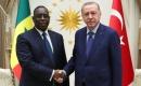 Erdoğan Senegal Cumhurbaşkanı Sall ile Bir Araya Geldi