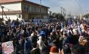 """Türkmen Gençler, """"Memur Atamalarındaki Haksızlığı"""" Kerkük'te Protesto Etti"""