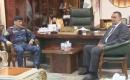 Federal Polis Komutanı Kerkük Valisi Rakan Sait İle Görüştü