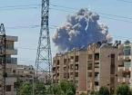 Suriye'de Hama Kentindeki Askeri Hava Üssünde Patlama Oldu