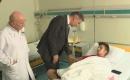Tütüncü Yaralı Türkmen Genci Ziyaret Etti